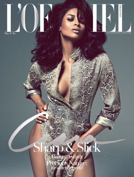 Ciara for L'Officiel Singapore May 2015 1
