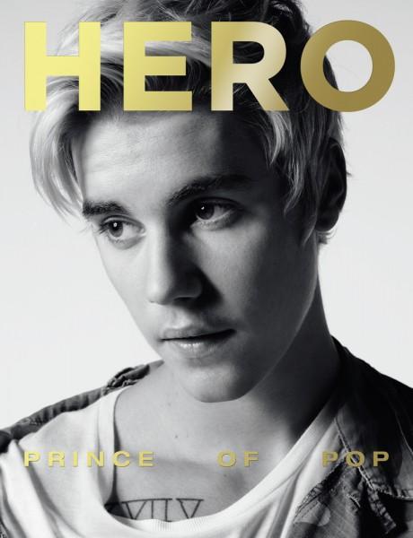 Justin Biber For Hero Magazine By Hedi Slimane