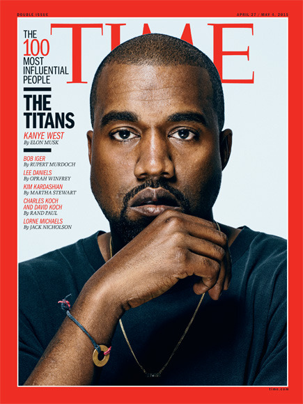 Kanye West Covers TIME Magazine's Most Influential People Issue