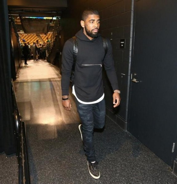 Kyrie Irving Arriving 1
