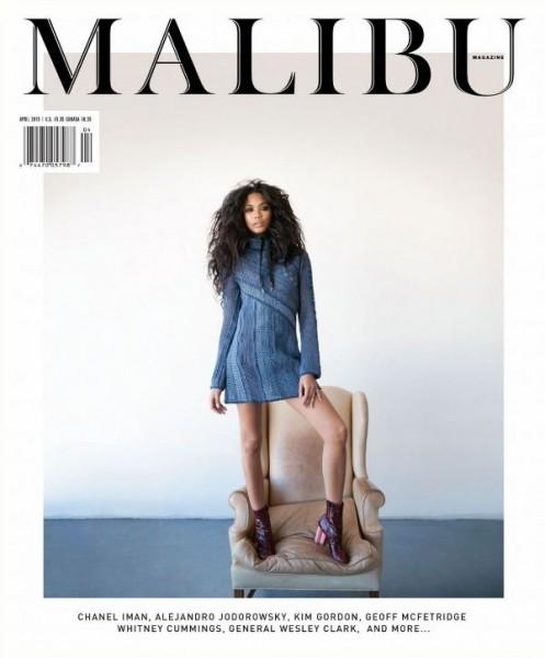 Malibu Magazine April 2015 Chanel Iman4