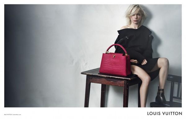 Michelle Williams Fronts Louis Vuitton's Latest Campaign1