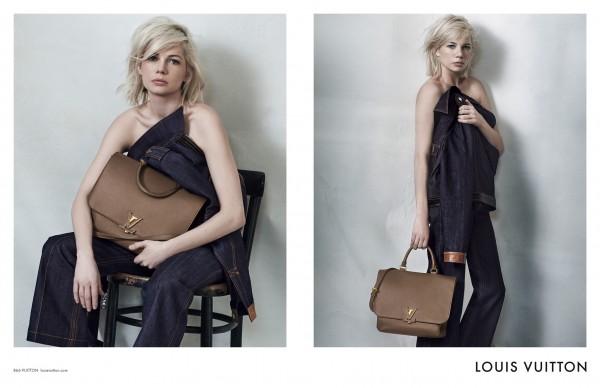 Michelle Williams Fronts Louis Vuitton's Latest Campaign7