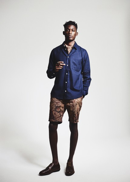 Model Harry Uzoka For Caleo Magazine 9