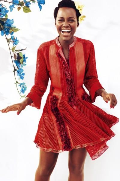 More Images Of Lupita Nyong'o For Harper's Bazaar UK May 2015