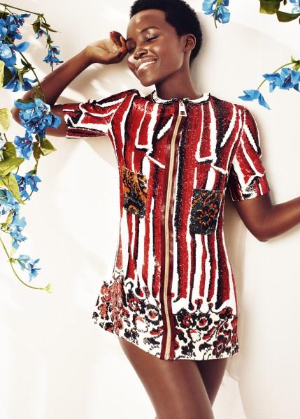 More Images Of Lupita Nyong'o For Harper's Bazaar UK May 20152