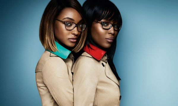 Naomi Campbell & Jourdan Dunn Star In Burberry's SpringSummer 2015 Eyewear Campaign1