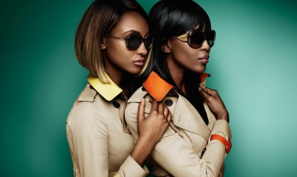 Naomi Campbell & Jourdan Dunn Star In Burberry's SpringSummer 2015 Eyewear Campaign2