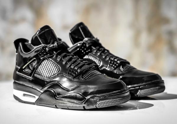 "Victor Cruz Sports Air Jordan 11LAB4 ""Black"" 3"