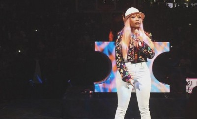 Nicki Minaj Styles In Chanel And Unveils Her Air Jordans