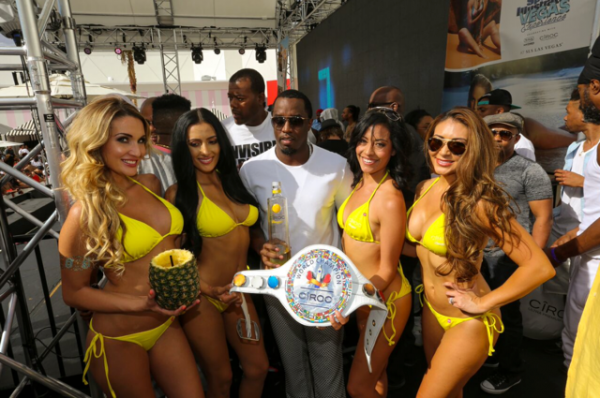 Diddy Hosted Sports Illustrated Day Party At SLS Las Vegas3