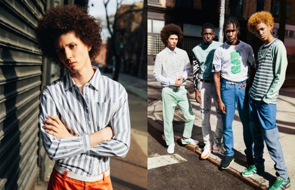 RED Models Sheani Gist, Nate Carty, Abiah Hostvedt & Michael Lockley For Schön! Magazine # 28 2