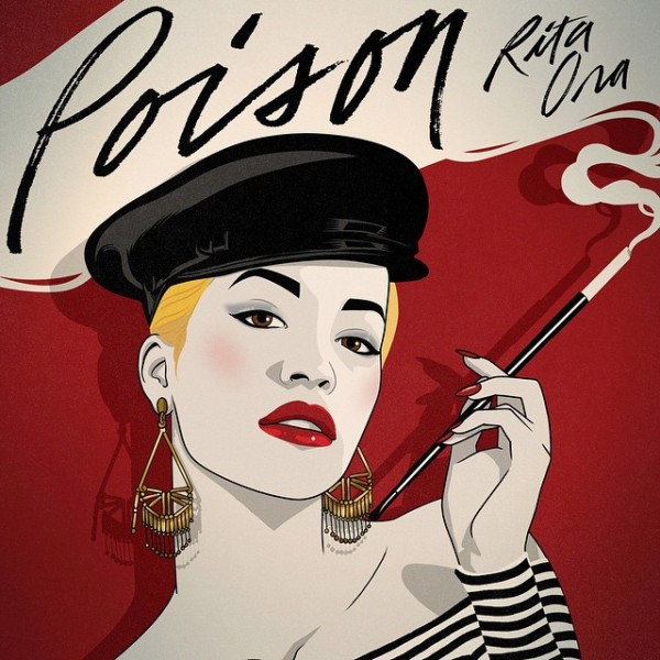"Rita Ora Announces New Single ""Poison,"" Unveils Artwork"