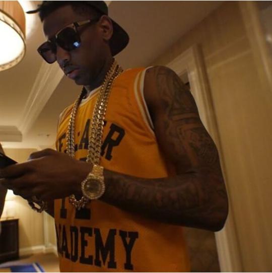 3acfe070807e Rapper Fabolous Spent Memorial Day Weekend In Las Vegas   Miami ...