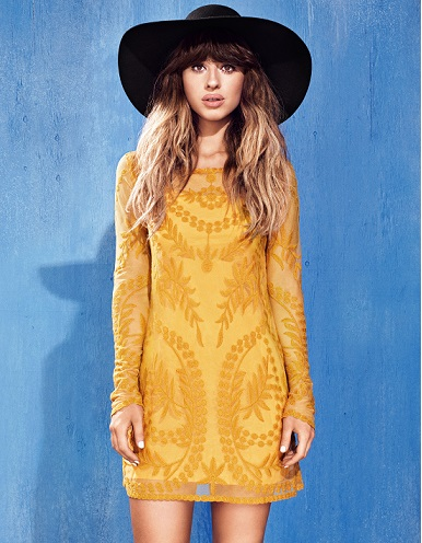 British Singer Foxes Fronts H&M Divided's fall 2015 campaign2