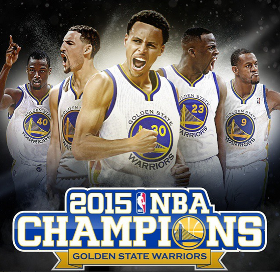 Golden State Warriors Win The 2015 NBA Championship!1