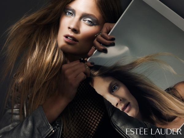 Joan Smalls & Constance Jablonski Wow For Estee Lauder4