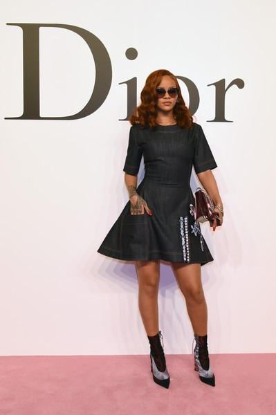 Rihanna Attends Christian Dior's Ready-To-Wear Show1