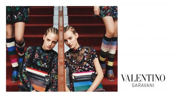 Valentino's Pre Fall 2015 Ad Campaign 1