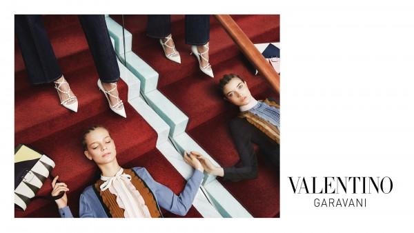 Valentino's Pre Fall 2015 Ad Campaign 3