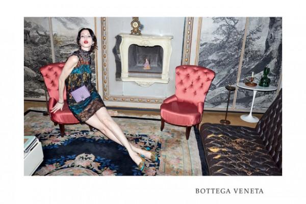 Juergen Teller in the Bottega Veneta Fall 2015 ad campaign.