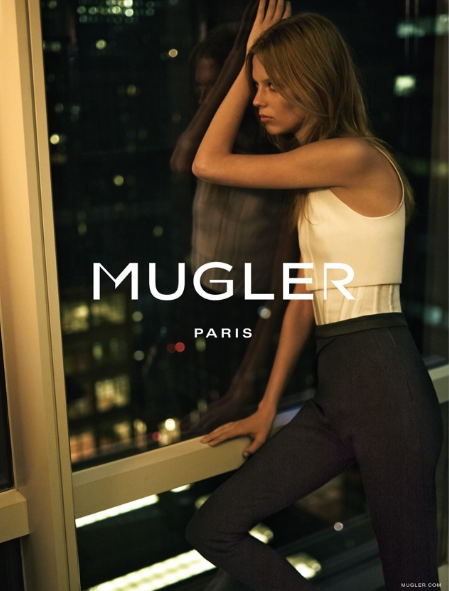 Lexi Boling Fronts Mugler's Fall 2015 Ad Campaign 1