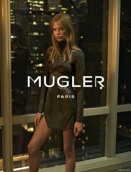 Lexi Boling Fronts Mugler's Fall 2015 Ad Campaign 3