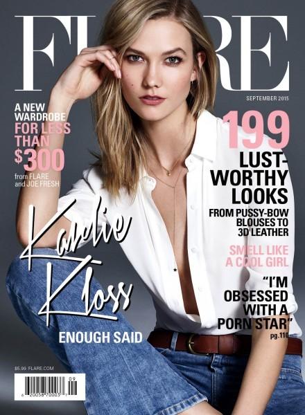 Supermodel Karlie Kloss Is FLARE's September Cover Star1