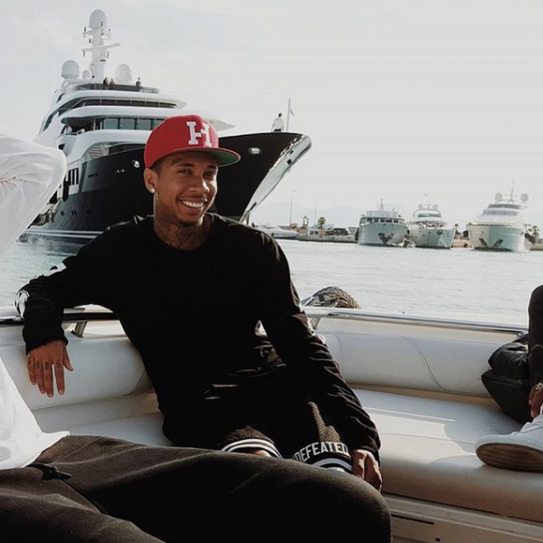 Tyga Vacaying In The French Riviera2