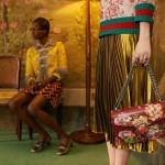 Gucci Reveals Cruise 2016 Ad Campaign Featuring Models Julita Formella, Allie Barrett And Rhiannon McConnell