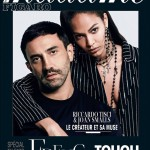 Joan Smalls & Riccardo Tisci For Madame Figaro