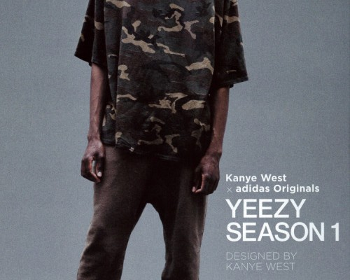 Kanye west, x adidas originali yeezy stagione 1 compare un editoriale