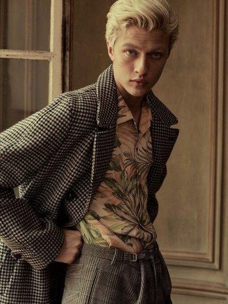 Lucky Blue Smith The First Ever CR Men's Book Cover Star 2