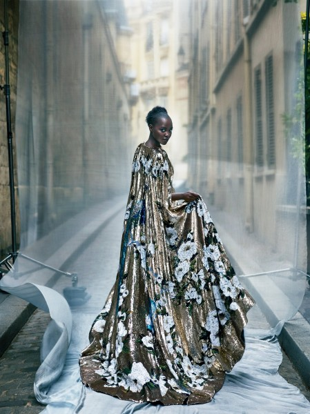 Lupita Nyong'o For Vogue October 2015 Issue 8