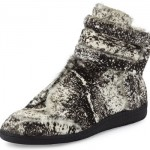 Passion For Fashion: $1,185 Maison Margiela Future Calf-Hair High Top Sneakers