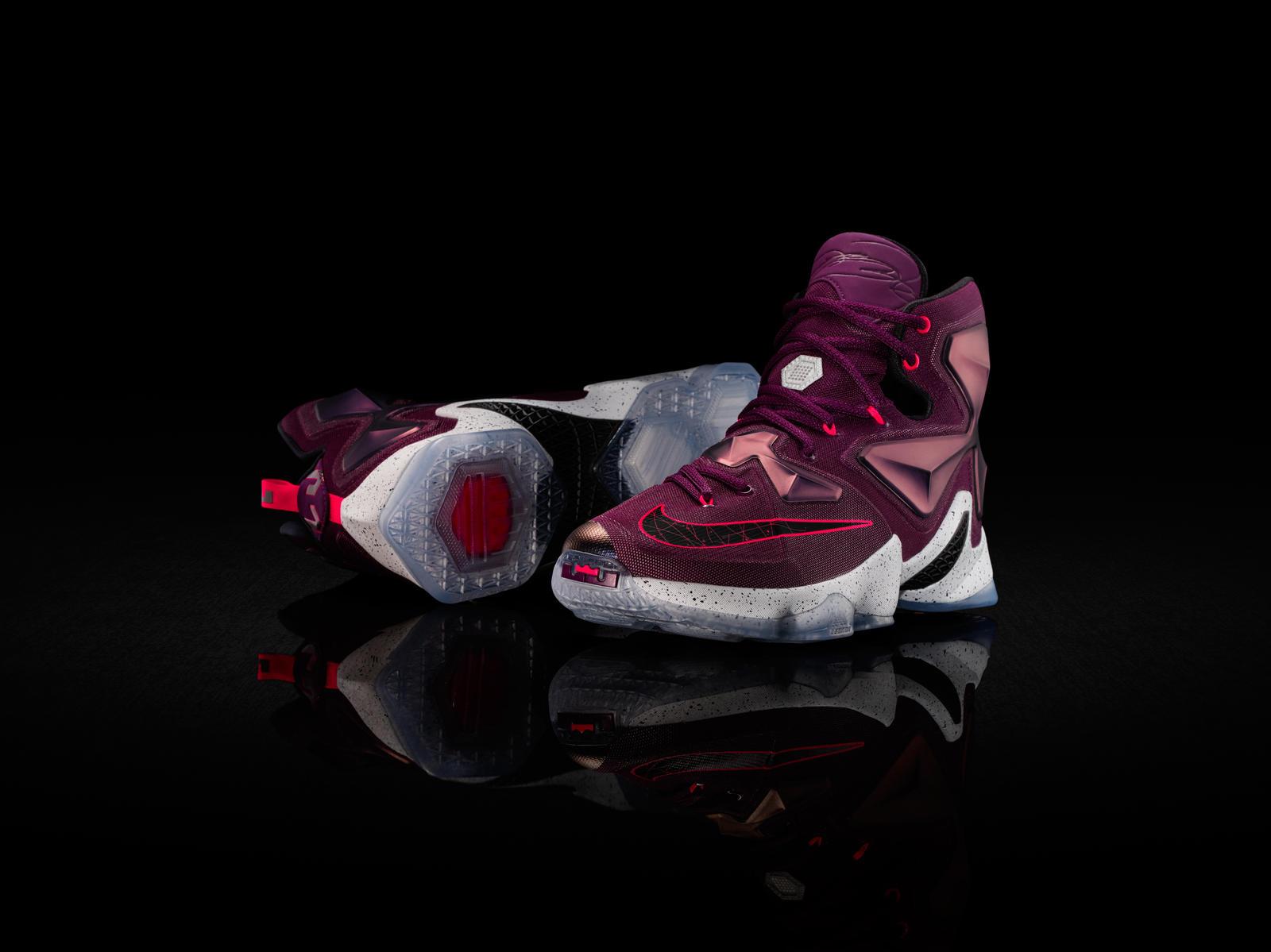 e29d93f561e8 NBA Player LeBron James Unveils His 13th Signature Sneaker ...