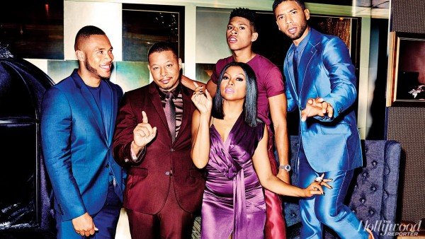The Cast Of 'Empire' For The Hollywood Reporter1