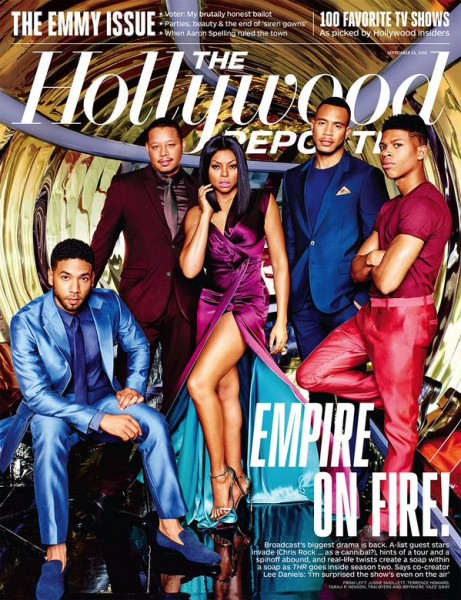 The Cast Of 'Empire' For The Hollywood Reporter10