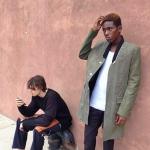 Sheani Gist & Ilir Shanja Styled In Tim Coppens For Barneys New York In Japan