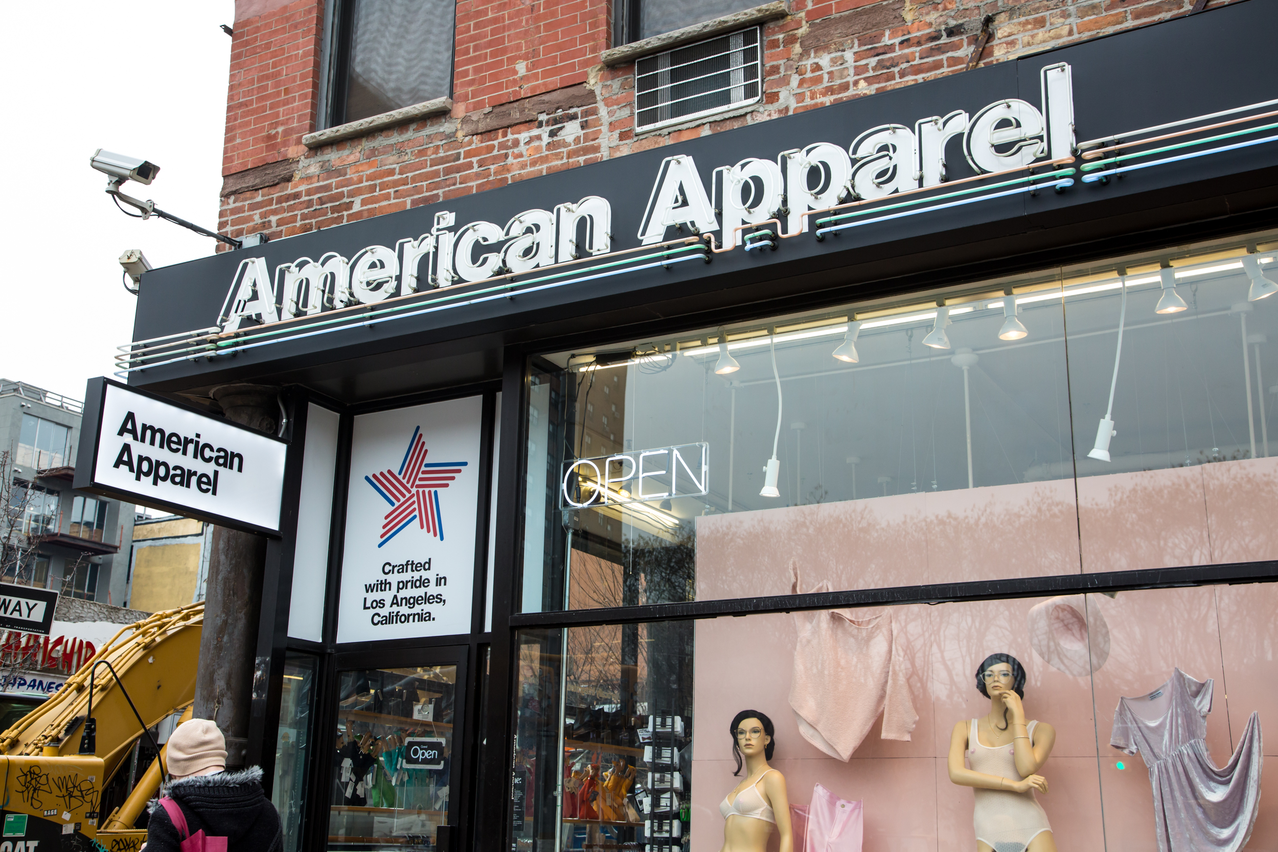 American clothing store