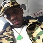 Street Style: Rapper Fabolous Draped In BAPE