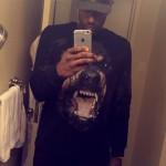 NBA Fashion: Shabazz Muhammad Styles In Givenchy Rottweiler Print Sweatshirt