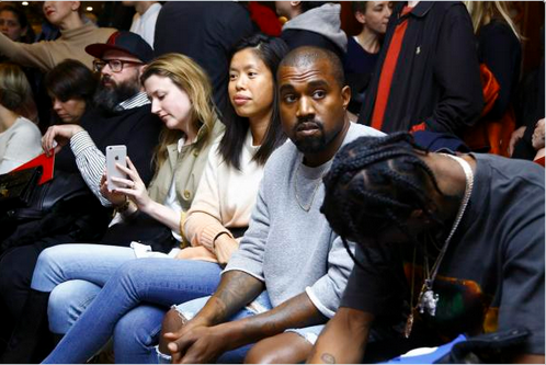 Kanye West And Travi$ Scott Attend Vetements' SS 2016 Show 3