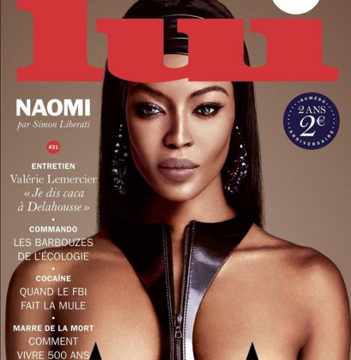 Naomi Campbell For Lui Magazine 3