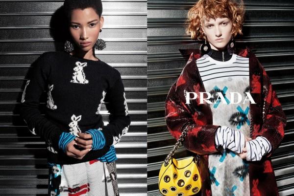 Prada's Resort 2016 Ad Campaign2