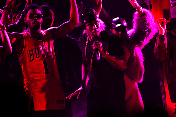 Puff Daddy & Lil' Kim Performed At 2015 BET Hip-Hop Awards1