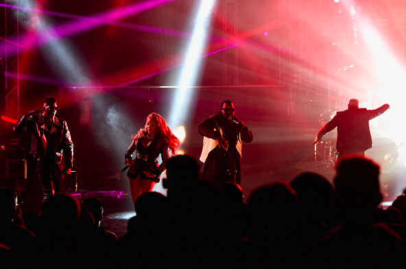 Puff Daddy & Lil' Kim Performed At 2015 BET Hip-Hop Awards3