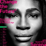 Serena Williams Fronts Wired Magazine's November 2015 Issue