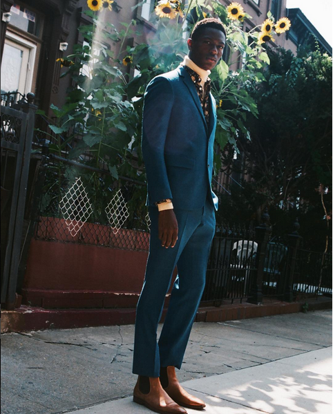 Sheani Gist & Michael Lockley For Reflex Homme Magazine 5