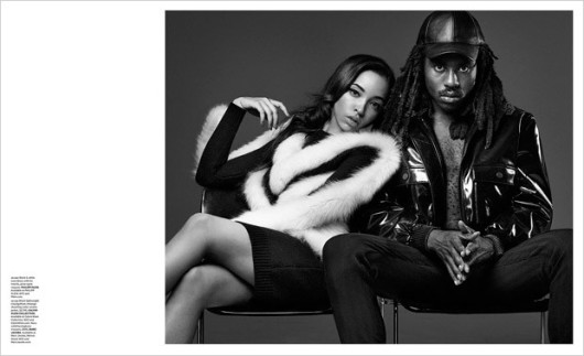 Tinashe And Dev Hynes For Essential Homme Magazine4